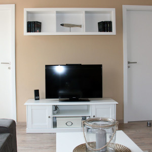 Wohnzimmer und TV Schrank